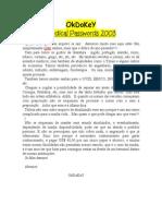 Journal Medical Passwords 2003dsfd