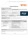 Pearson BTEC Level 5 HND Diploma in Computing Sample Assignment