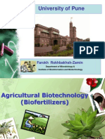 2869482 Agricultural Biotechnology Biofertilizers