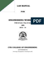 first year btech mechanical workshop manual