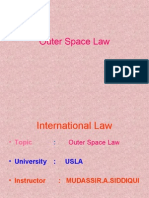 Outer Space Law