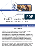 Inside Dynamics AX 2012 Performance - A1214