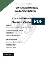 Bases III Trofeo Real Club Natación Delfín