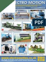 Electro Motion Machine Tools & Sheet Metal Leaflet