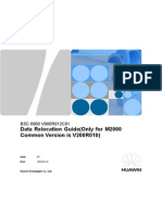 BSC6900 V900R012C01 Data Relocation Guide(Only for M2000 Common Version is V200R010)