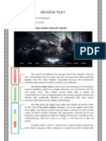Contoh Tugas Bahasa Inggris Review Text