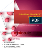 Electron Transport and Clinical Correlation
