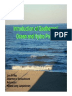 20140102 Geothermal Hydro and Ocean Wave