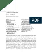 Bronfen Brenner Model of Development