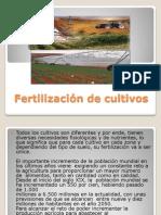 Fertilización de Cultivos