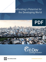 Crowdfunding's Potential for  the Developing World