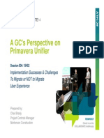 A GCs Persepective on Primavera Unifier PPT