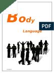 Project on Body Language