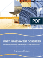 First Arheoinvest Congress - Programme and Abstracts