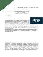 Domingo Muñoz Leon - Universalidad de La Salvacion en La Apocaliptica
