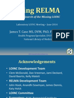 2014 06 04 - Laboratory LOINC and RELMA Workshop