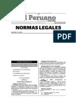 Ley Universitaria 30220 - 2014