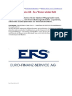 Euro Finanz Service AG - Das Immer Wieder Geld Konzept