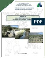 Estudio Afianzamiento Hídrico Cuenca Río Ingenio