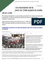 Según Informe El Crecimiento de La Educación Superior en Chile Superó La Media de La Ocde _ Educación _ LA TERCERA