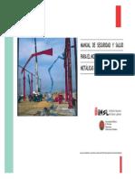 Manual de Procedimientos para la Seguridad en los Montajes de Estructuras Metalicas.pdf