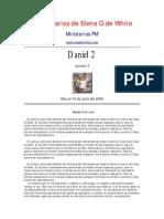 Elena de White - Comentarios Daniel 2