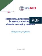 Ghid practic și legislativ - COOPERAREA INTERCOMUNITARĂ ÎN REPUBLICA MOLDOVA