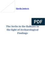124679434 the Serbs in the Balkans in the Light of Archaeological Findings Djordje Jankovic