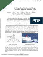 Aerodynamic Design Considerations and Shape