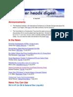 Cooler Heads Digest 11 July 2014