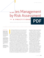 Caries Management by Risk Assesment a Practitioners Guide Oct 2007