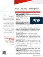 XCS Web Security Subscription