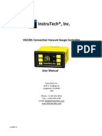 Convection Vacuum Gauge Controller Instruction Manual
