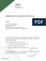 Cambios Modelo EFQM 2013 121221