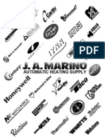 J. A. Marino Product Catalog