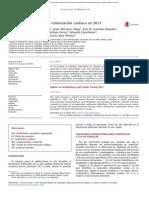 Novedades en arritmias y estimulacio´n cardiaca en 2013