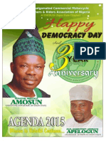 Amosun 3 Years in Office