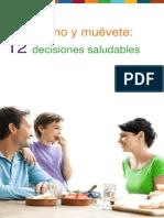 11 Come Sano y Muevete 12 Decisiones Saludables