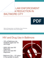 Baltimore Police and Harm Reduction