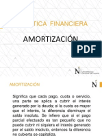 Amortización-