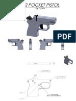 Post 3 45540 .22 Pocket Pistol Dwgs