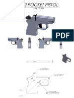 Post 3 45540 .22 Pocket Pistol Dwgs