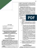 Ley Sobre Paquete de Normas Para Reactivar La Economía de País