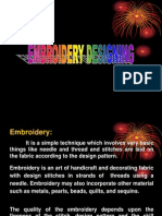 Embroidery Designing