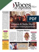 Voces de Esperanza 13 de Julio de 2014