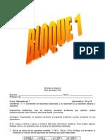 Plan Diario de Clase Todos Los Bloques