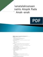 Penanatalaksanaan Dermatits Atopik Pada Anak-anak.pptx