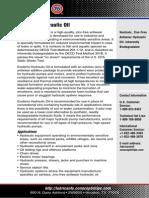 FOB Ecoterra Hydraulic Oil TDS Web
