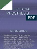 Types of Maxillofacial Prosthesis