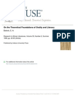 OnTheTheoreticalFoundationsOfOrality&Literacy
